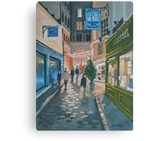 Somewhere In Paris Canvas Print