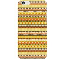 Stripes yellow. iPhone Case/Skin