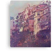 A Slice of Riomaggiore Canvas Print