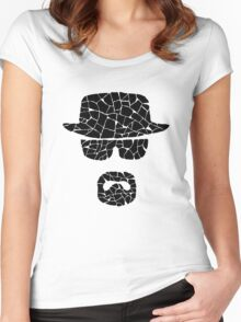 Heisenberg (black) Women's Fitted Scoop T-Shirt