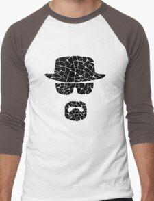 Heisenberg (black) Men's Baseball ¾ T-Shirt
