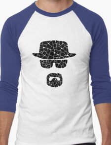Heisenberg (black) Men's Baseball ¾ T-Shirt
