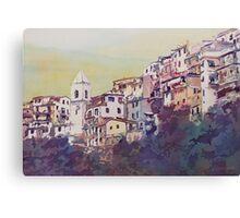 Riomaggiore Hillside Canvas Print