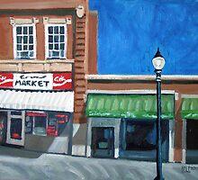 The Corner Market by Robert Holewinski