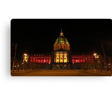 San Francisco City Hall Canvas Print