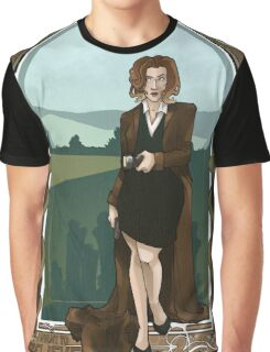 Dana Scully Art Nerdveau Graphic T-Shirt