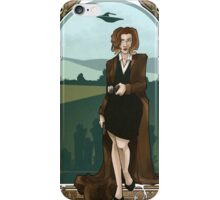 Dana Scully Art Nerdveau iPhone Case/Skin