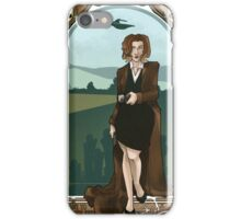 Dana Scully Art Nerdveau iPhone Case/Skin