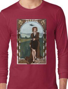Dana Scully Art Nerdveau Long Sleeve T-Shirt
