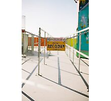 Traveling Fair.1. Photographic Print