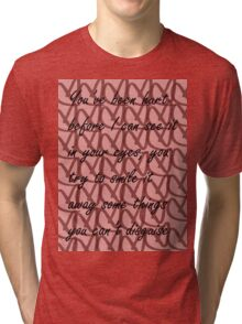 Demi Give Your Heart A Break Tri-blend T-Shirt