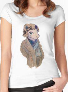 Sherlock Holmes MLP Women's Fitted Scoop T-Shirt