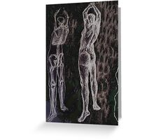 The Figure Greeting Card