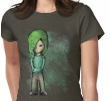 Skater Girl 02 Womens Fitted T-Shirt