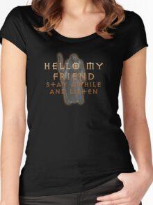 Deckard Cain Women's Fitted Scoop T-Shirt