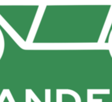 Tandem Bicycle Sign Sticker