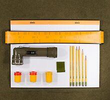 Electrigram-Yellow & Green by Tyler Dickey