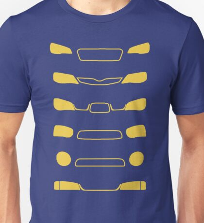 Subaru Impreza Family Unisex T-Shirt