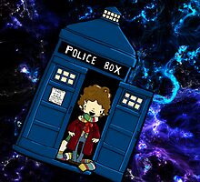 TARDIS in SPACE doctor who 4 by Bantambb