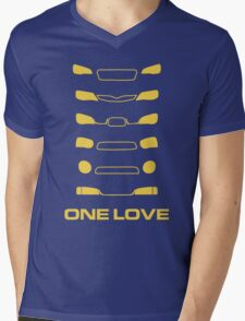 Subaru Impreza - One love Mens V-Neck T-Shirt