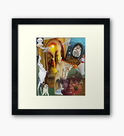 disappear Framed Print