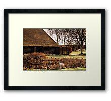 Tithe Barn Framed Print