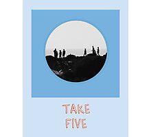 Take Five Photographic Print
