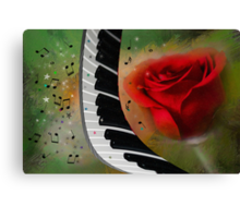 The Magic Of Love And Music Canvas Print