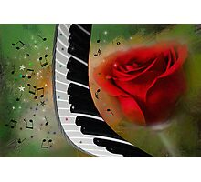 The Magic Of Love And Music Photographic Print