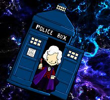 TARDIS in SPACE doctor who 3 by Bantambb