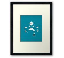 Mobile Weather Framed Print