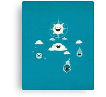 Mobile Weather Canvas Print