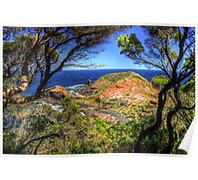 Cape  Schanck, Mornington Peninsula.  Poster