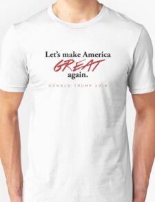 Donald Trump - Let's Make America Great Again T-Shirt