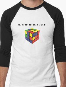 Rubik's Cube Algorithm Men's Baseball ¾ T-Shirt