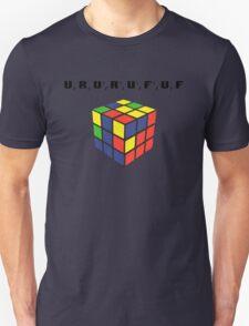 Rubik's Cube Algorithm Unisex T-Shirt