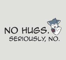 No Hugs, Seriously! (Husky) by GSKitty