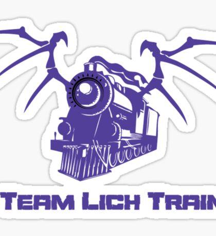 Team Lich Train Sticker