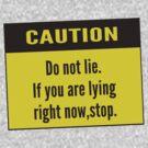 caution by tapirink