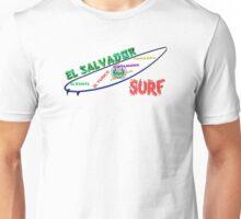 Surf El Salvador Unisex T-Shirt
