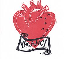 Vacancy, Room for Love in this Heart by craftyhag