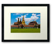 Wat Phra Kaeo, Bangkok Thailand Framed Print