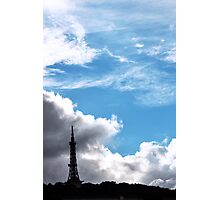 Mini Eiffel Tower Photographic Print
