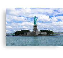 Statue of Liberty National Monument Canvas Print