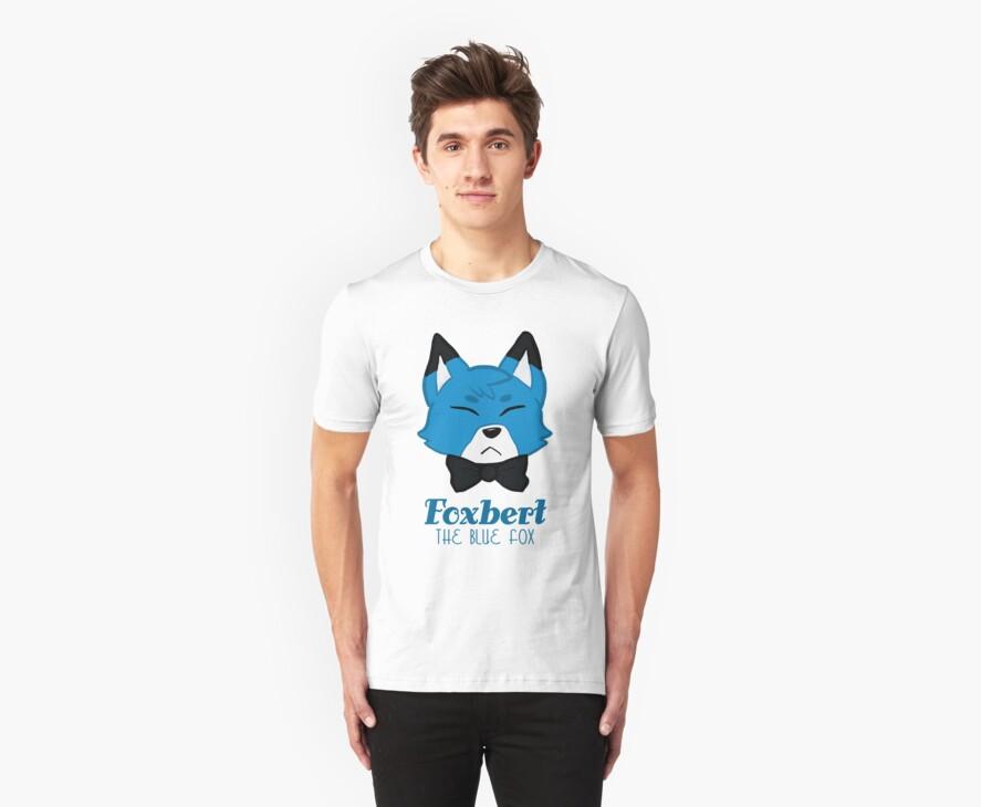 Foxbert, The Blue Fox by Diana Moon
