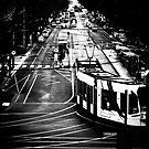 Burke st Tram by Andrew Wilson