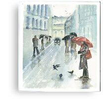 Don't They Feel The Cold Canvas Print