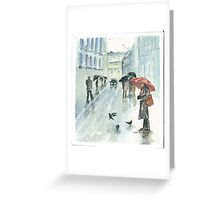 Don't They Feel The Cold Greeting Card