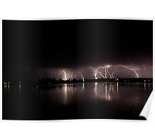 Lake Storm Poster