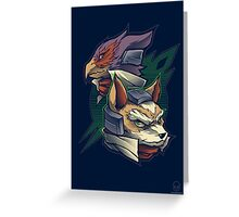 Lylat Heroes Greeting Card